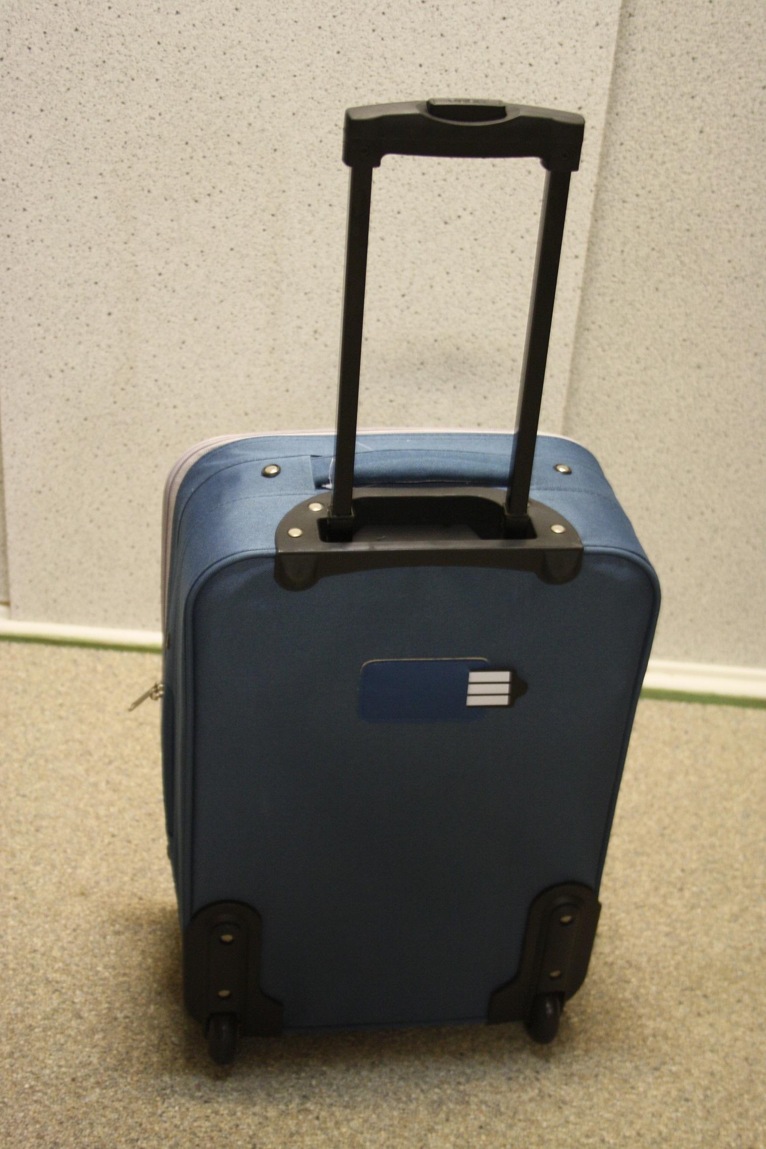 Ongekend AKTIE!!! Handbagage Leonardo-spilbergen-spec NU rood-zwart-blauw UE-77